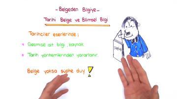 Tarihî Belge ve Bilimsel Bilgi