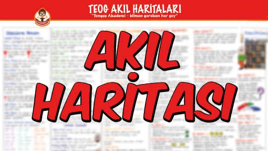 AKIL HARİTASI / Sözcükte Anlam
