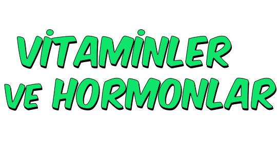 Vitaminler ve Hormonlar