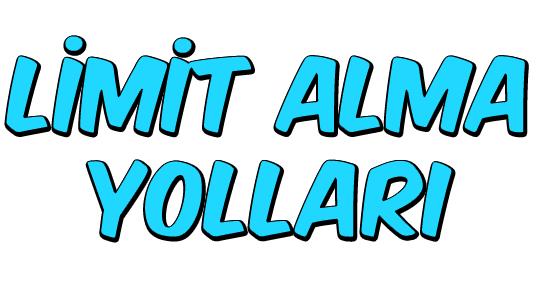 Limit Alma Yolları