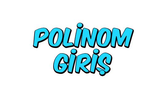 Polinom Giriş