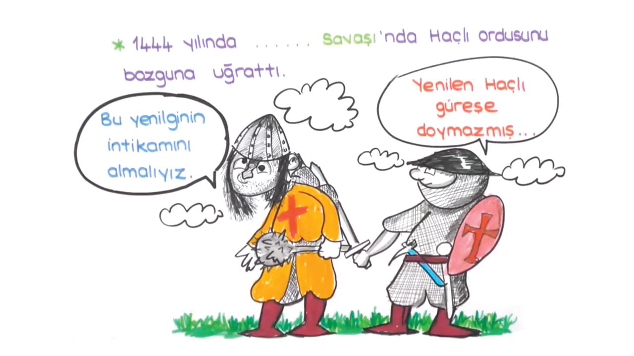 Beylikten Cihan Devletine konusu II. Murat eğitimi