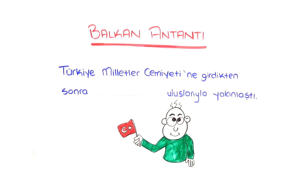 Balkan Antantı ve Sadabat Paktı konusu Balkan Antantı ve Sadabat Paktı eğitimi