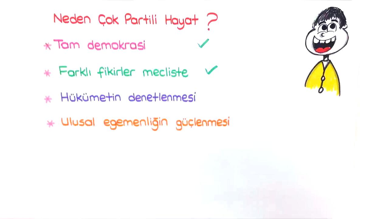 Atatürk Döneminde Demokratikleşme Çabaları konusu Çok Partili Sisteme Geçiş Denemeleri eğitimi