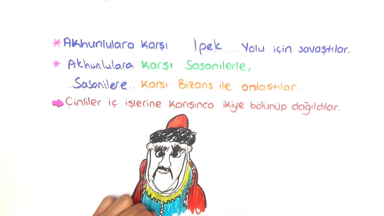 Tarih Sahnesinde Türkler konusu I. Kök Türk Devleti eğitimi