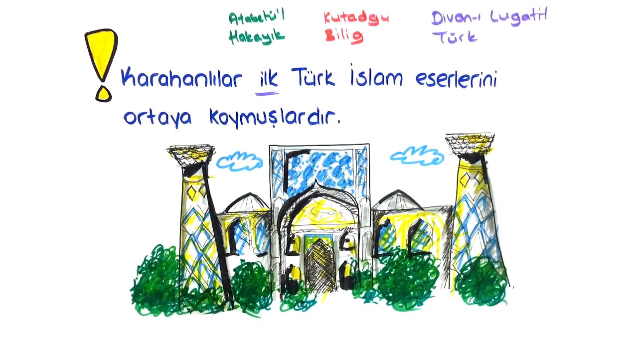 İslamiyet ve Türkler konusu Karahanlılar eğitimi