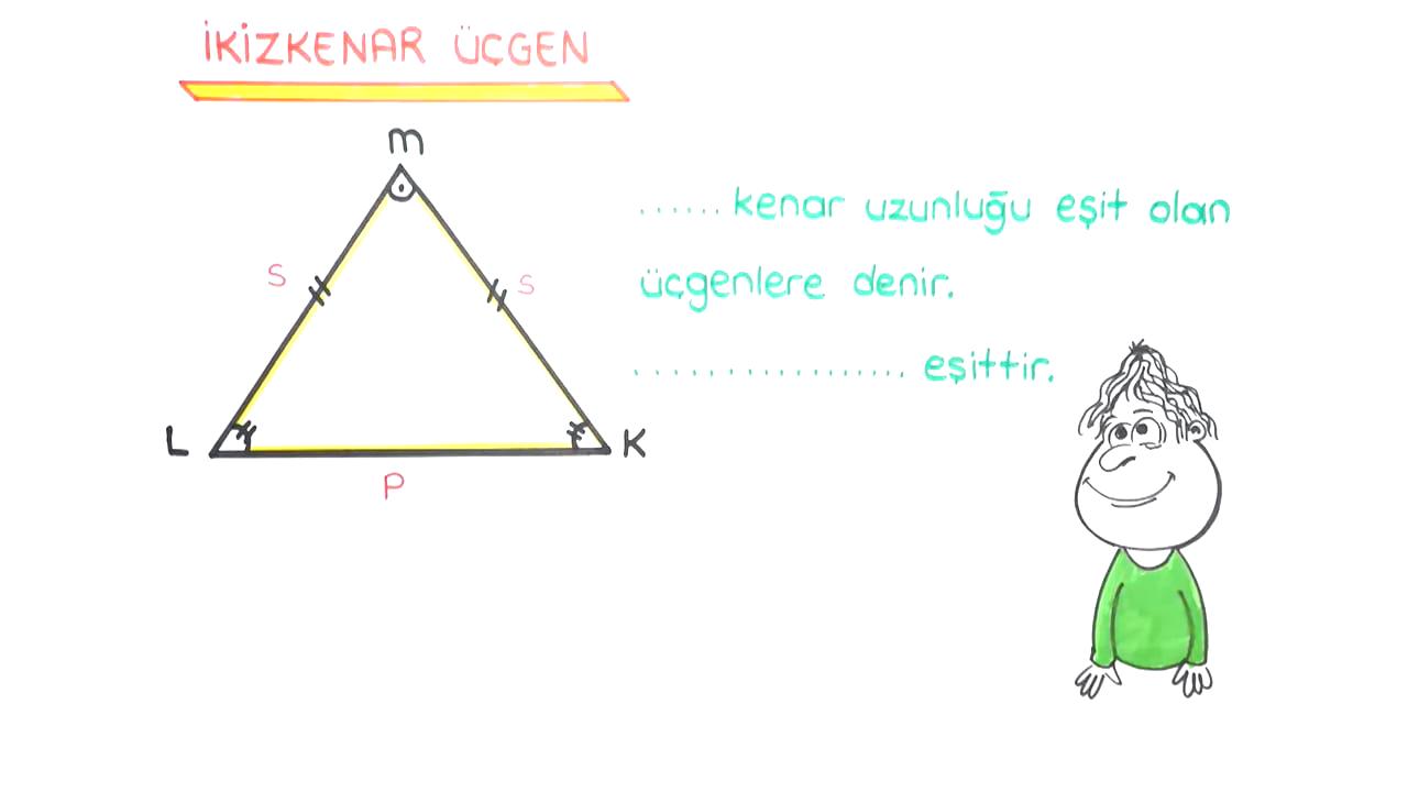 Üçgenler ve Dörtgenler konusu Kenarlarına Göre Üçgenler eğitimi