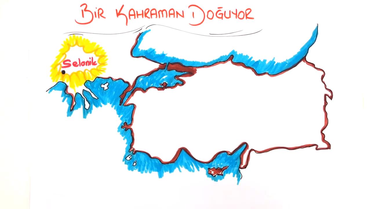 Mavi Gözlü Çocuk : Mustafa konusu Mustafa Kemal'in Çocukluğu ve Eğitim Hayatı eğitimi