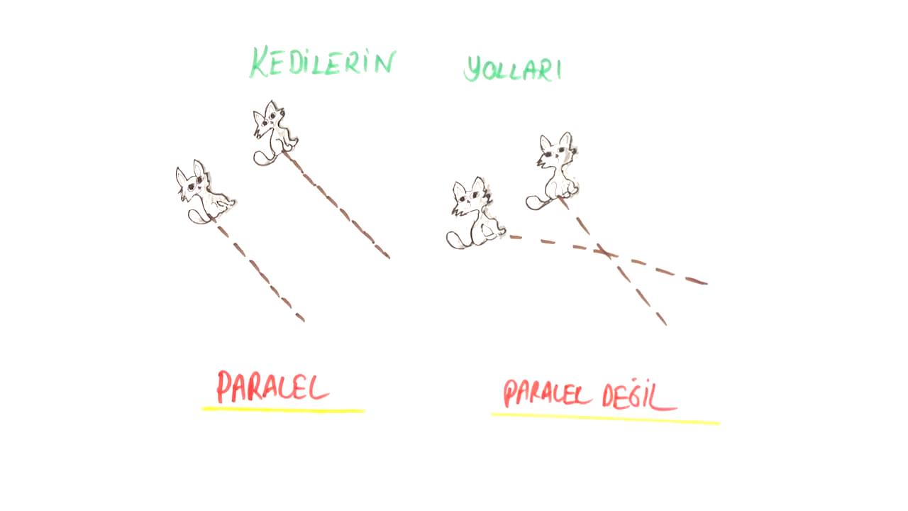 Temel Geometrik Kavramlar ve Çizimler konusu Paralellik eğitimi