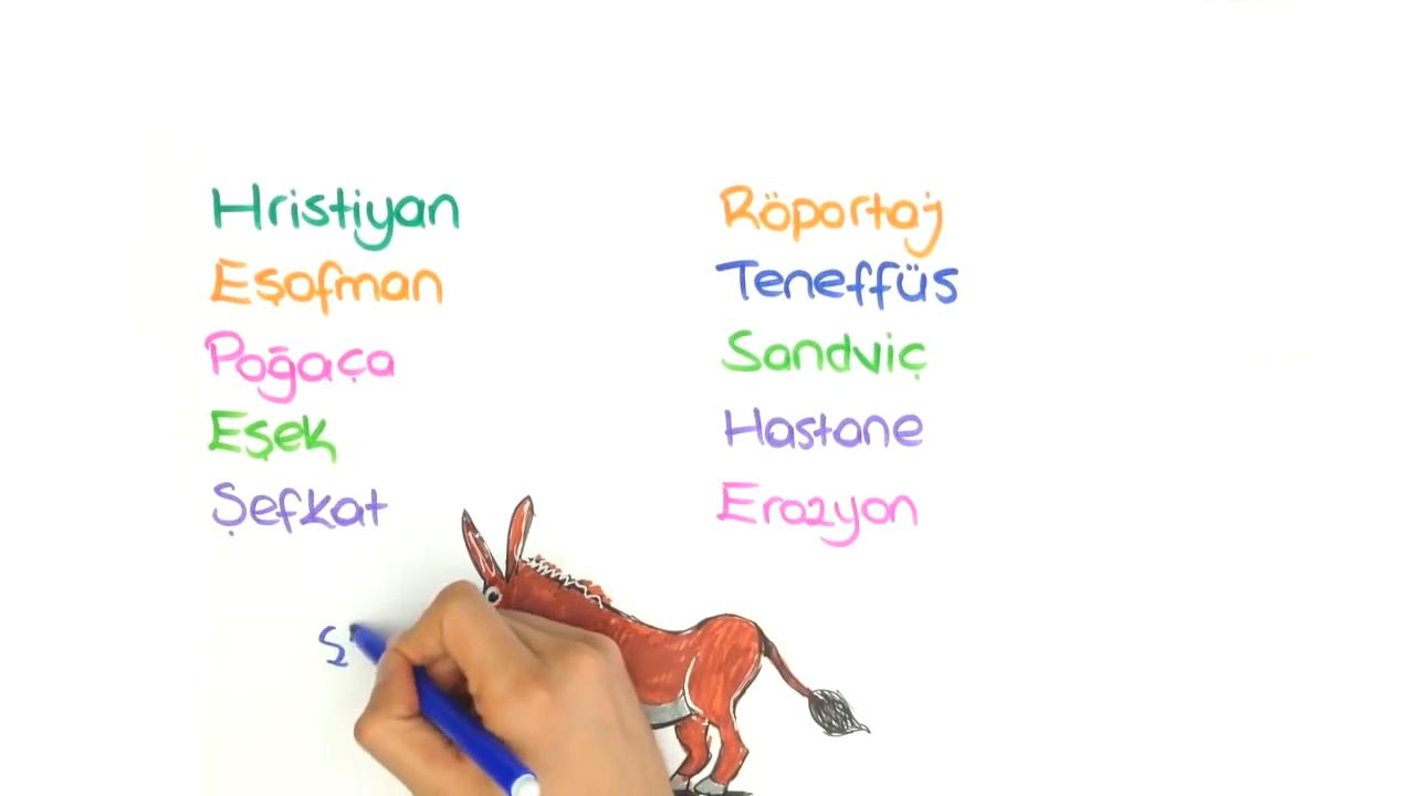 Yazım Kuralları konusu Yazımı Karıştırılan Sözcükler - 2 eğitimi