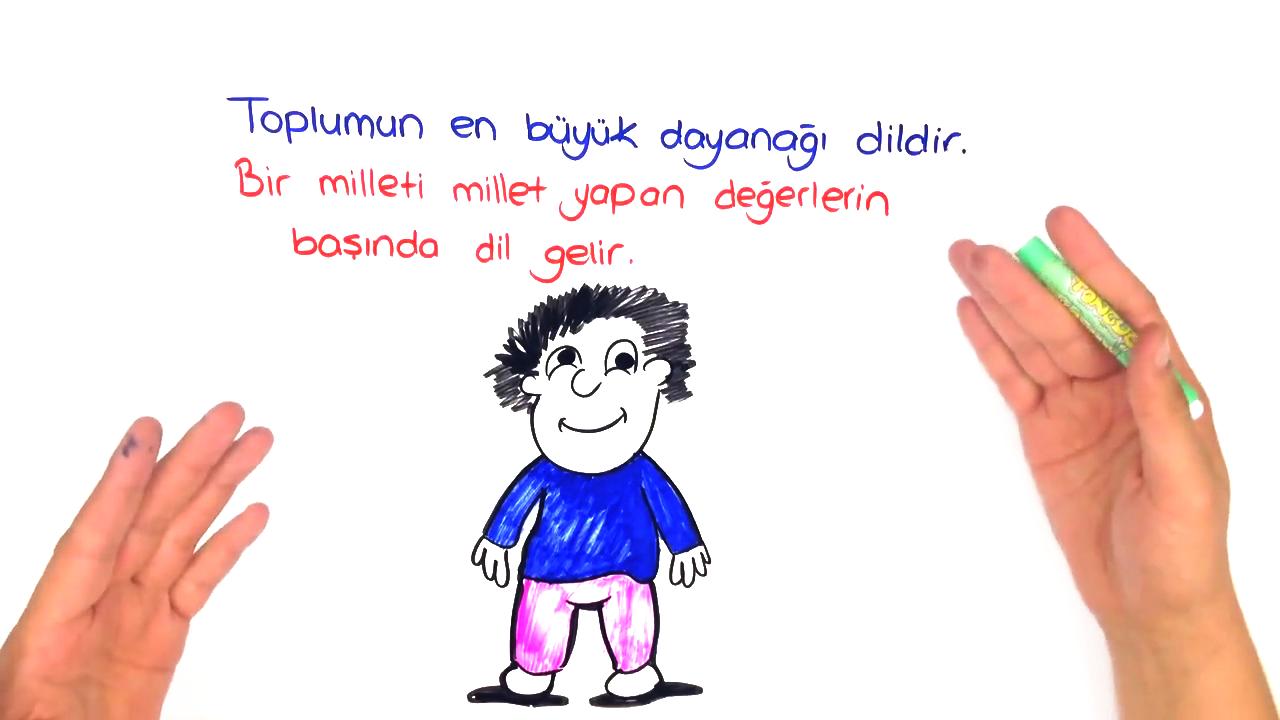 Dilin Önemi konusu Dilin Önemi, Kullanımından Doğan Türleri eğitimi