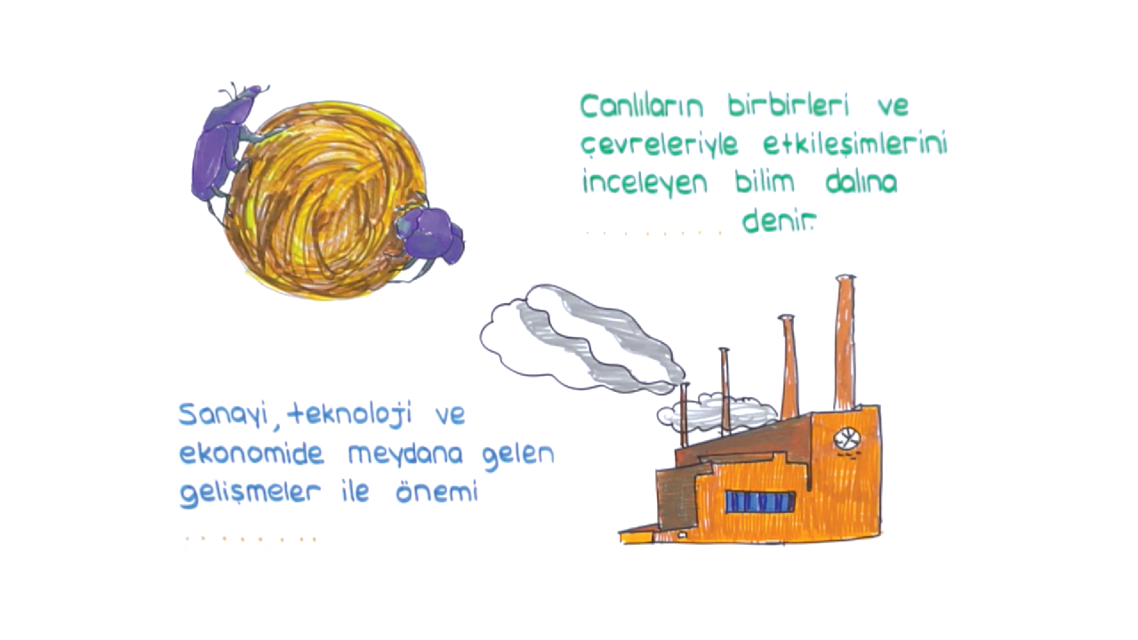 Ekosistem Ekolojisi konusu Ekolojik Kavramlar 1 eğitimi