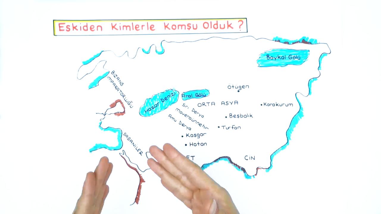 İlk Türk Devletleri ve Komşuları konusu İlk Türk Devletleri ve Komşuları eğitimi
