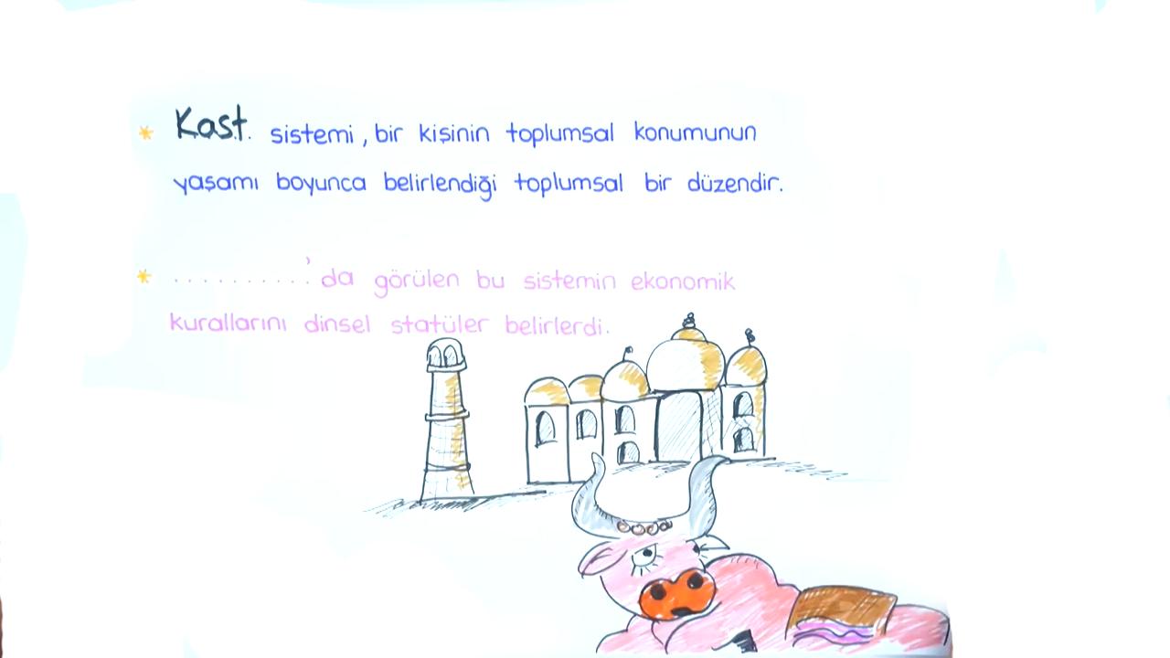 Tarımdan Ticarete Ekonomi konusu İlk ve Orta Çağ'da Toplumsal Tabakalaşma eğitimi