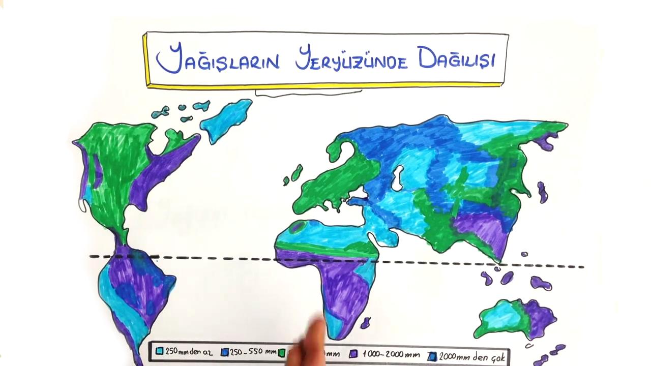 İklim Elemanları konusu - Nem ve Yağış eğitimi