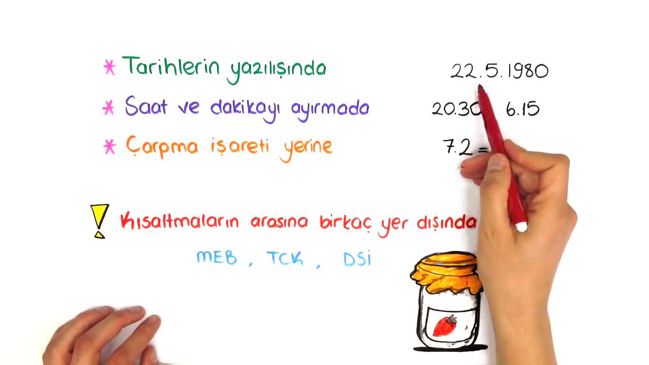 Dil Bilgisi konusu Noktalama İşaretleri eğitimi