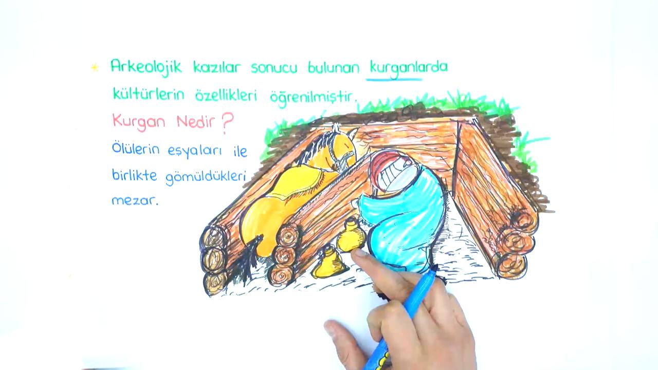 Tarih Sahnesinde Türkler konusu Orta Asya Kültür Merkezleri eğitimi