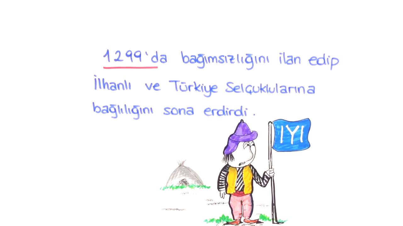 Beylikten Cihan Devletine konusu Osman Bey eğitimi
