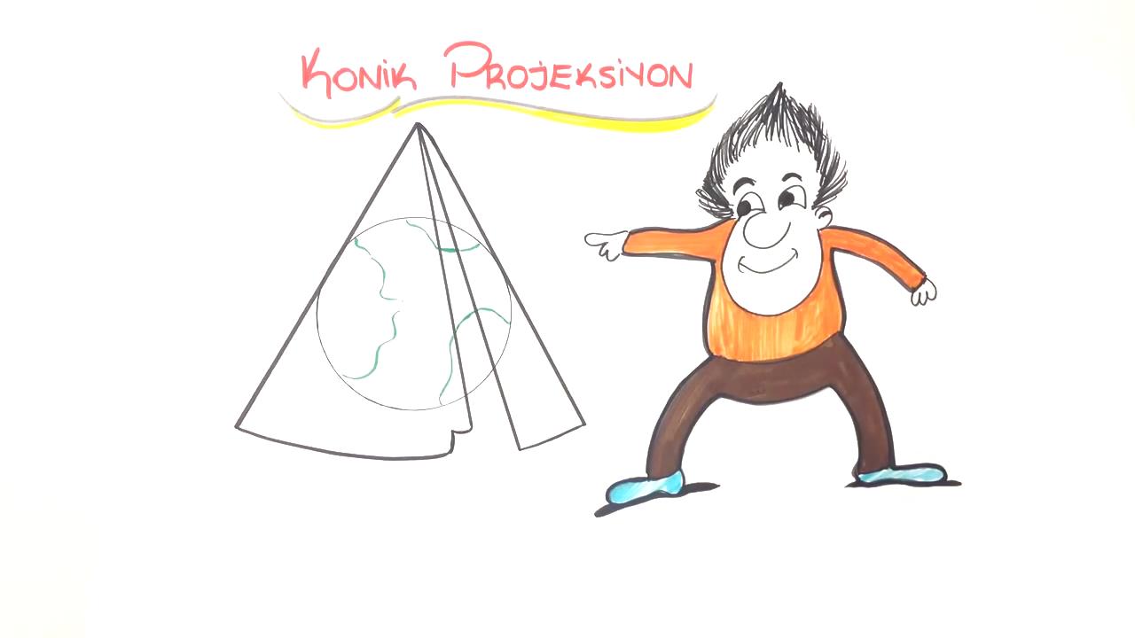 Harita Bilgisi konusu Harita Çizim Yöntemleri (Projeksiyonlar) eğitimi