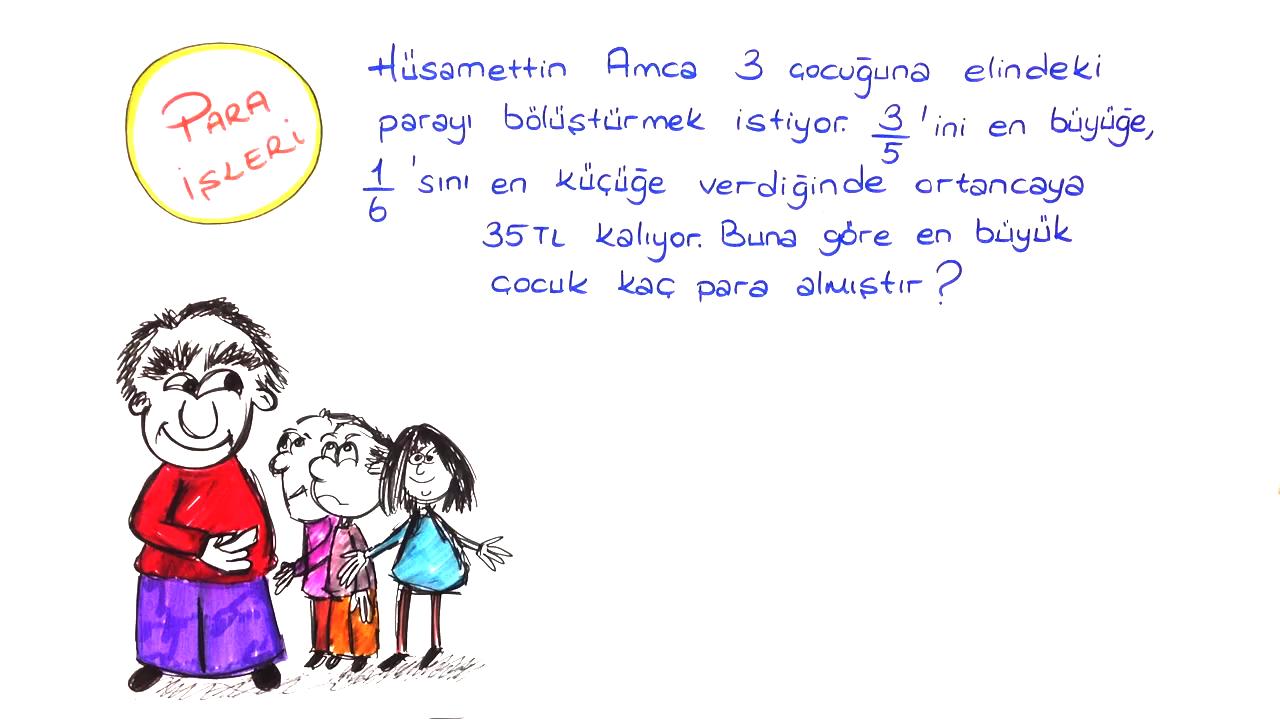 Rasyonel Sayılarda İşlemler konusu Rasyonel Sayı Problemleri eğitimi