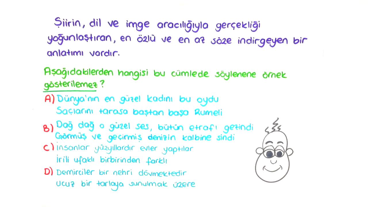Şiir İnceleme Yöntemleri II konusu Şiir İmge Dili eğitimi