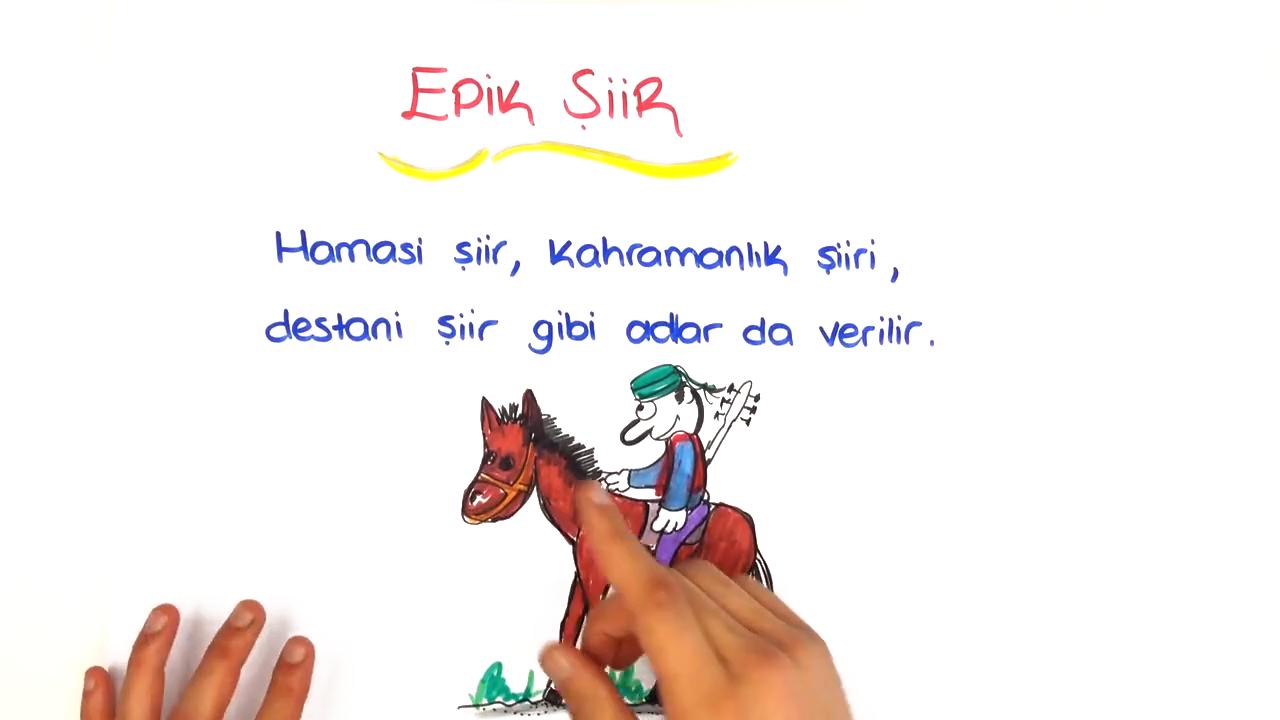 Şiirin Genel Özellikleri konusu Şiir Türleri - 1 eğitimi