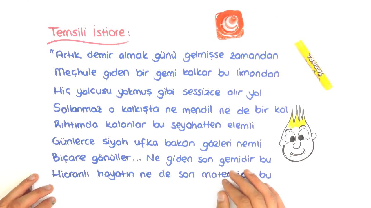 Şiir İnceleme Yöntemleri II konusu Söz Sanatları - 1 eğitimi