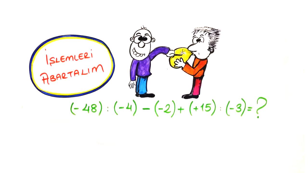 Tam Sayılar konusu Tam Sayılarla Bölme eğitimi