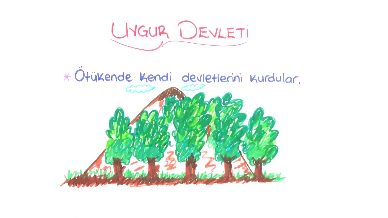 Tarih Sahnesinde Türkler konusu Uygur Devleti eğitimi