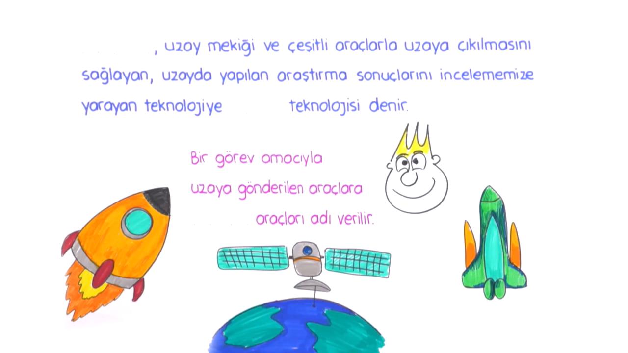 Güneş Sistemi ve Ötesi konusu Uzay Teknolojileri ve Uzay Kirliliği eğitimi