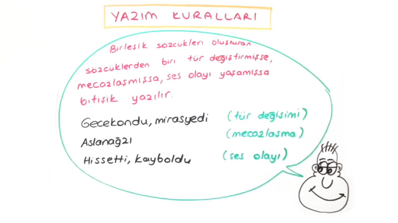 Dil Bilgisi konusu Yazım Kuralları eğitimi