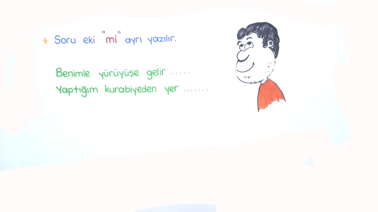 Yazım Kuralları konusu Yazım Kuralları eğitimi