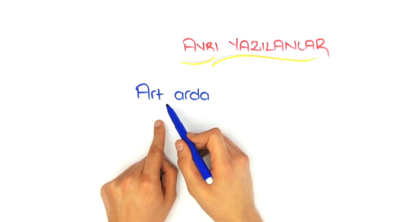 Yazım Kuralları konusu Yazımı Karıştırılan Sözcükler 1 eğitimi
