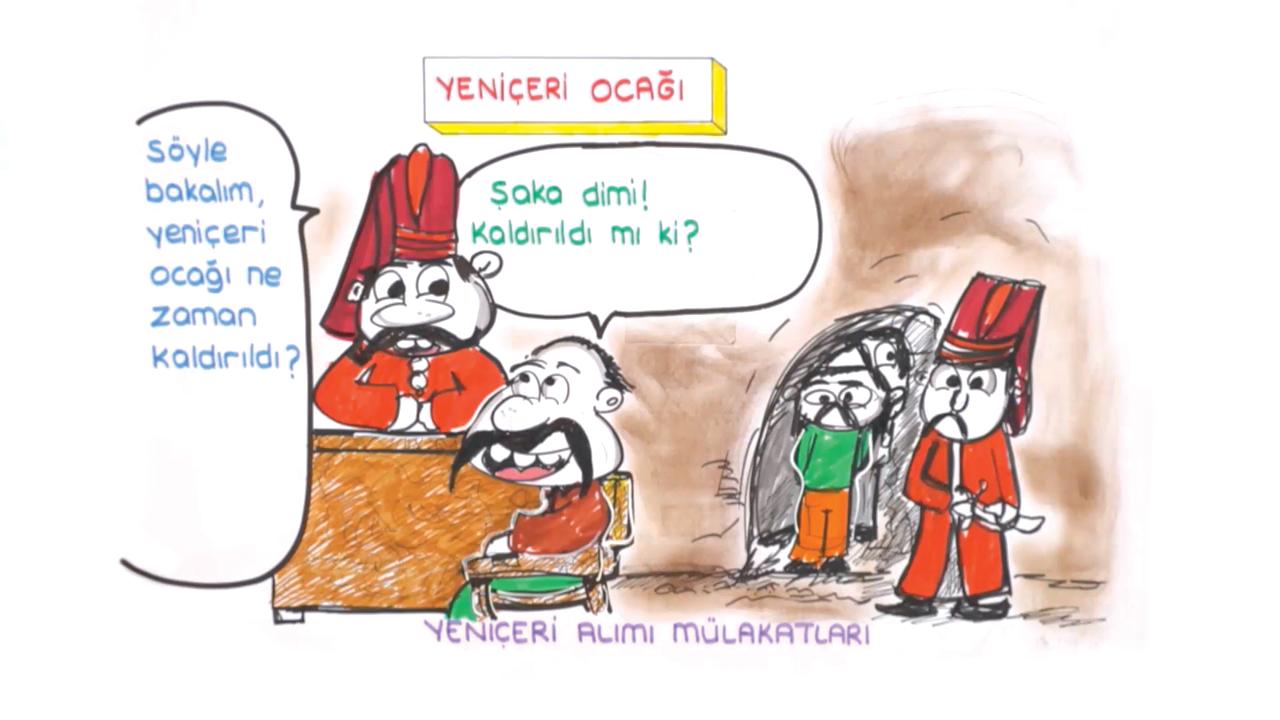 Osmanlılarda Askeri Teşkilat konusu Yeniçeriler ve Devşirme Sistemi eğitimi
