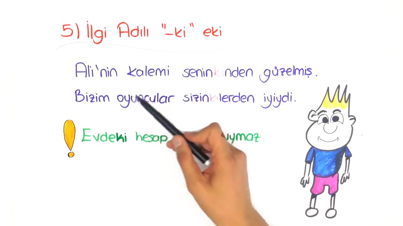 Dil Bilgisi konusu Zamir eğitimi
