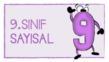 9. SINIF SAYISAL