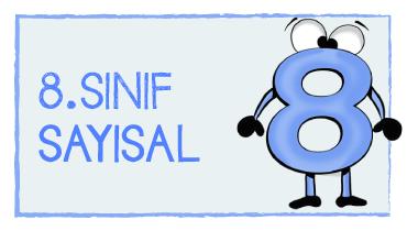 8. SINIF SAYISAL