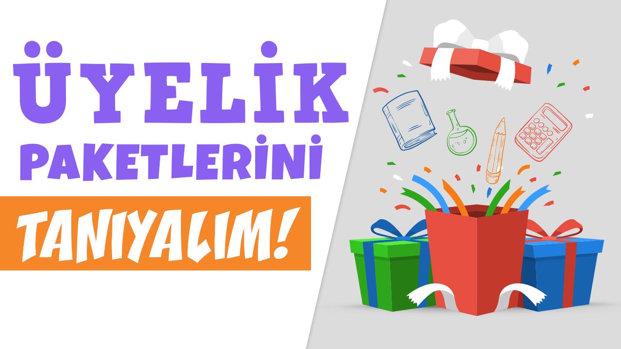 PAKETLERİ TANIYALIM